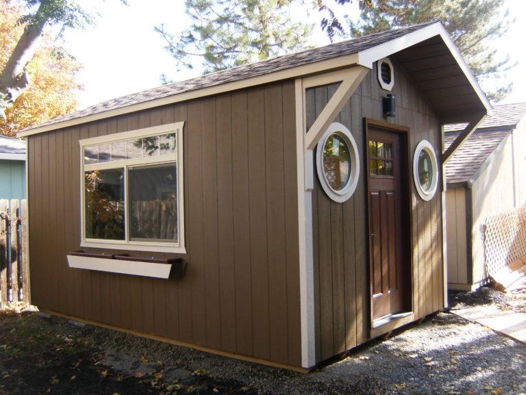 custom storage shed