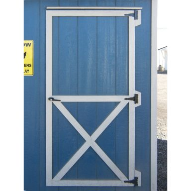 standard barn and quaker style door