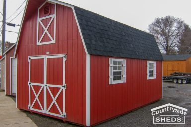 tall barns color shed ideas