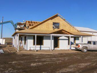 oregon shed shop office building coming together