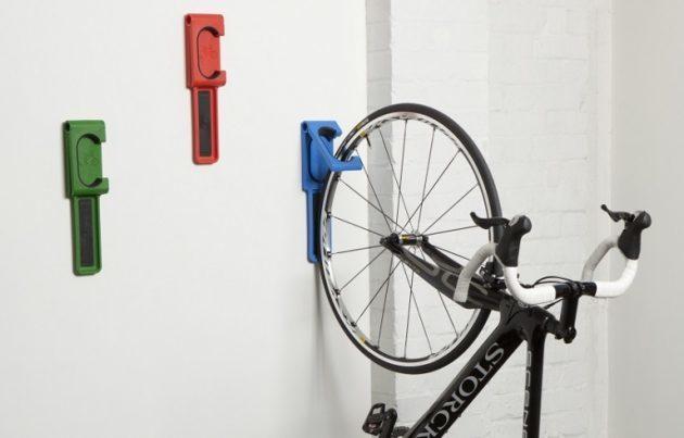 bike sheds wall storage hook