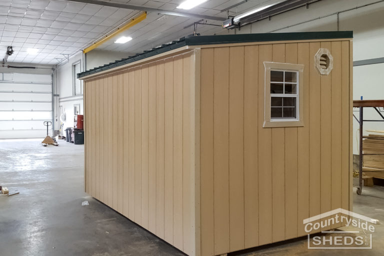 the style of a tough shed