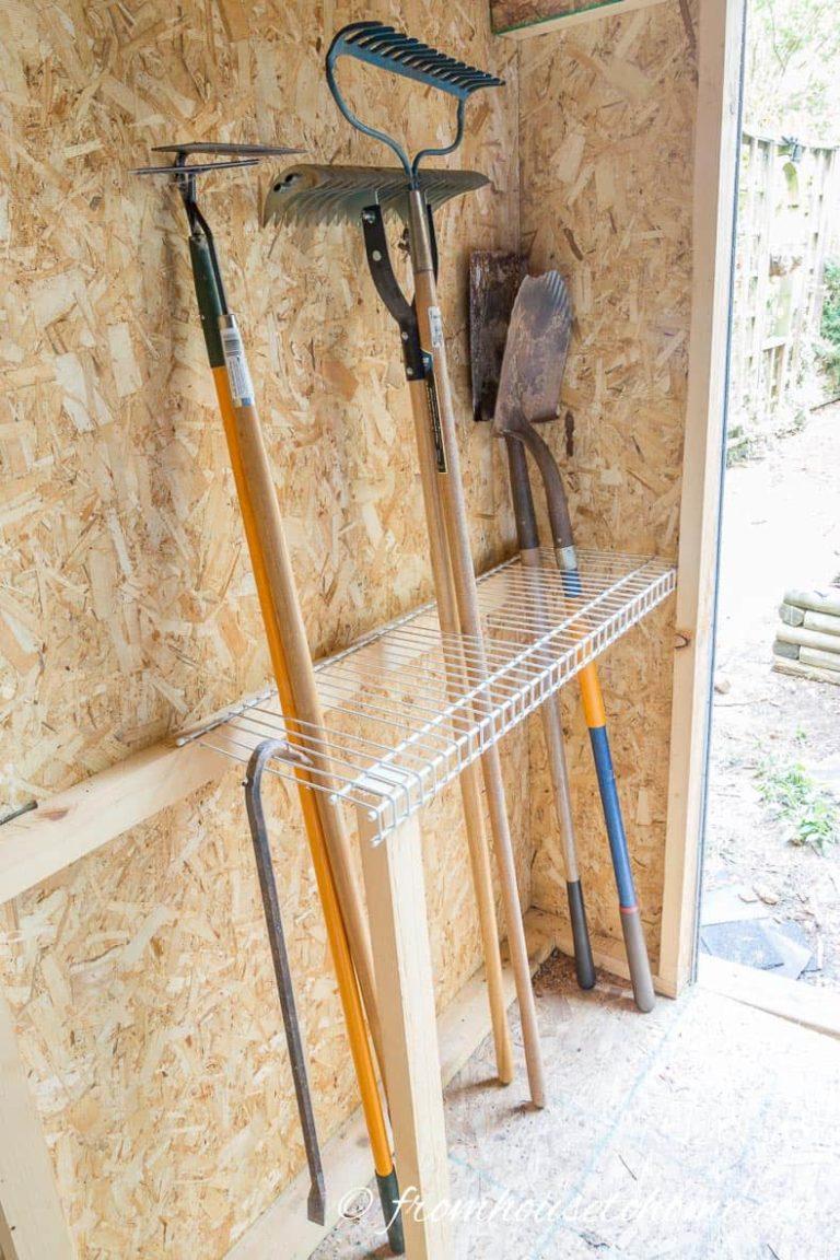 garden tool storage 6