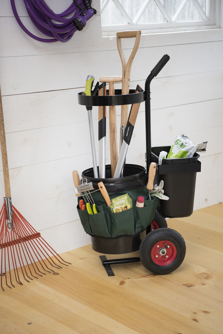 mobile garden storaeg caddy