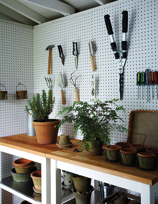 potting garden storage shed