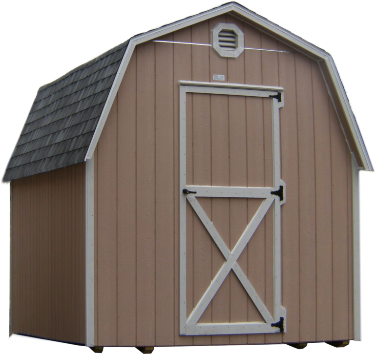 large mini barn or
