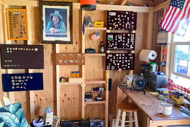 10x10 backyard shed in oregon