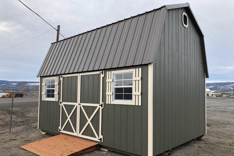 12x16 Tall Barn: $7,678