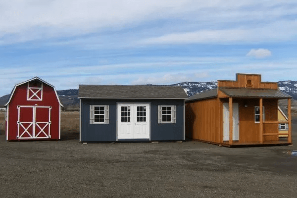 storage sheds in wallowa or