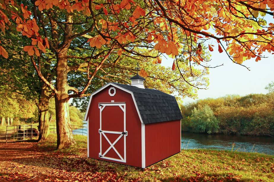 garden shed mini barns in or