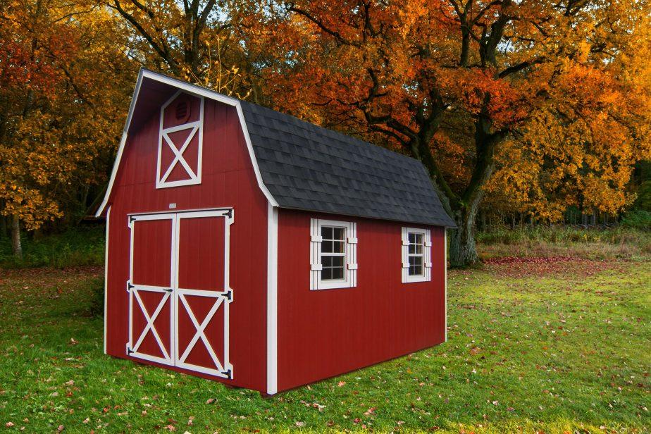 prefab barns or