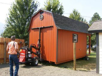 moving shed services or