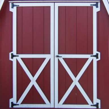 5′ optional double doors barn quaker